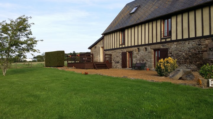 LaFromental converted milking barn Normandy France