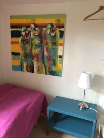 Lille hyggeligt værelse i Odense C - Odense - บ้าน