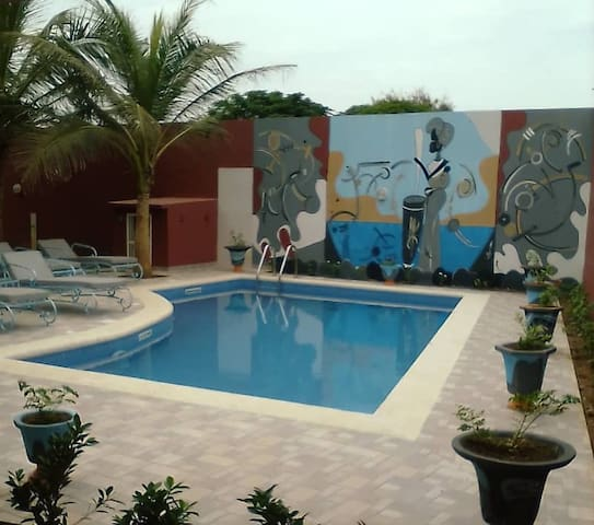 Villa Keur Mbeugué, haven of peace in Somone