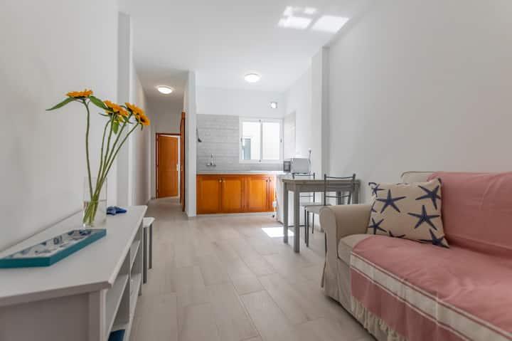 Apartamento céntrico y luminoso en El Médano