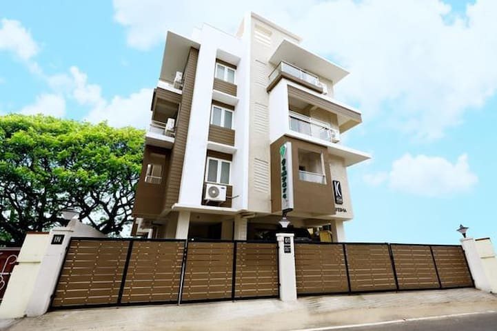 luxurious fully furnished apartment - Nungambakkam - Chennai - Daire