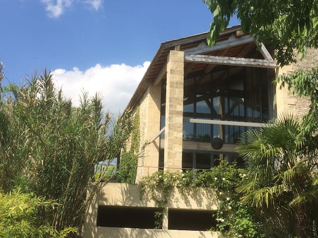 house from 17th recently rebuild - Sanilhac-Sagriès - Casa