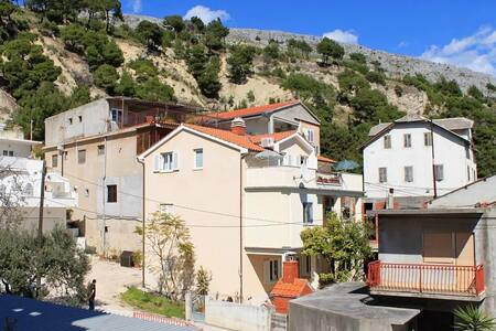 Studio flat with terrace and sea view Krilo Jesenice, Omiš (AS-5159-a) - Jesenice - Andre