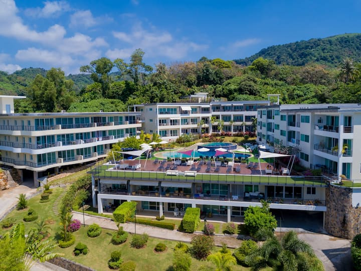 Cosy appartement at karon Beach Hill side