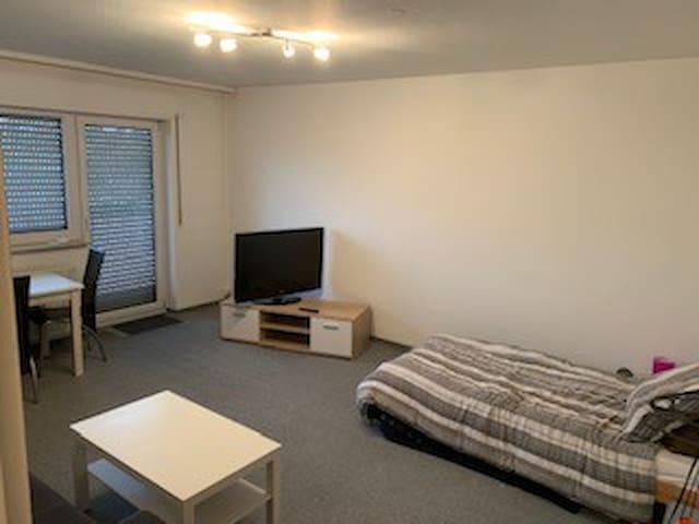 Einzimmerwohnung am Hockenheimring