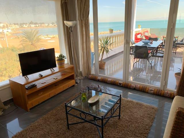Dar el màa Guesthouse - SUITE Sdb vue mer sea view