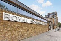 Entrance from Woolwich into Royal Arsenal