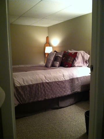 One separate Bedroom with Queen size bed