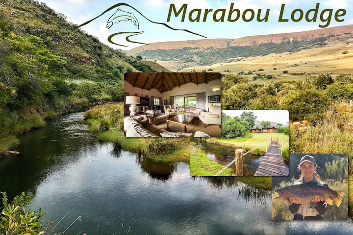 Luxurious lodging with exclusive fly fishing