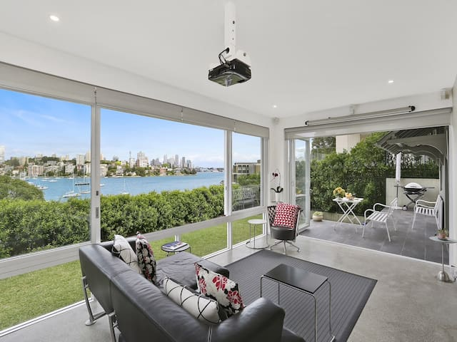 Stunning Sydney Harbour Panorama - Point Piper - Apartemen
