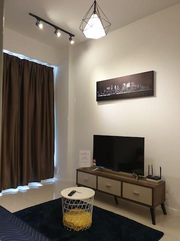 Comfy modern home