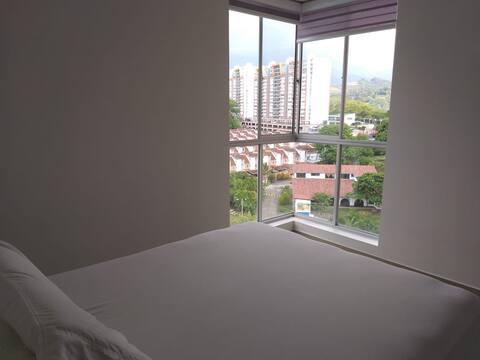 Hermosa habitación con baño privado