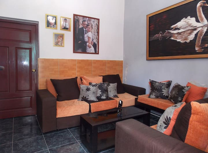 3 rooms in the center of camaguey full apartment
