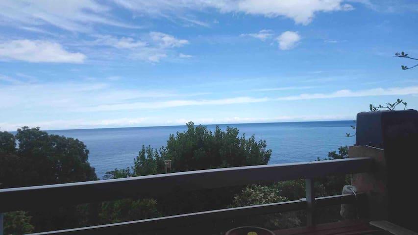 Charmant studio vue mer & accès plage à pied