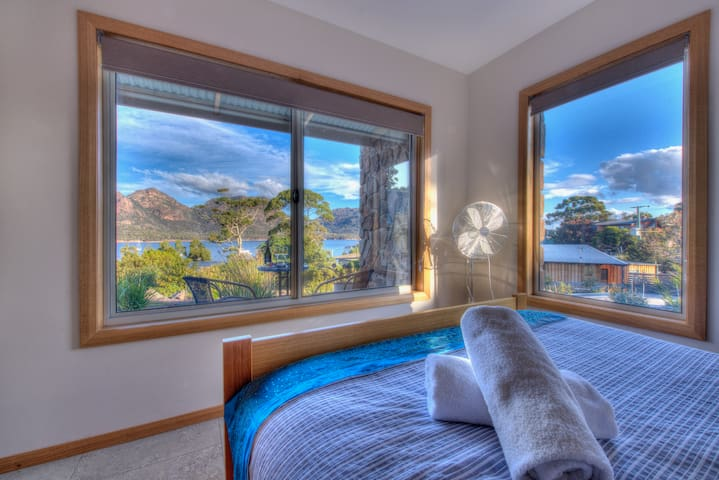 Stunning views from the main bedroom.