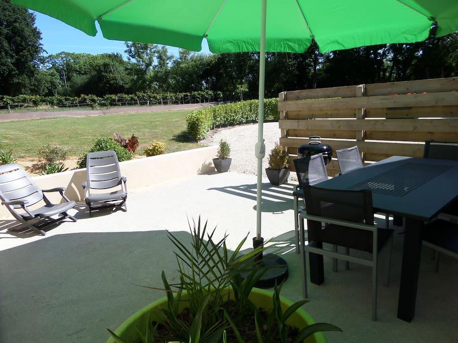 Gite calme avec piscine couverte en juillet 2018 maisons - Gite avec piscine bretagne ...