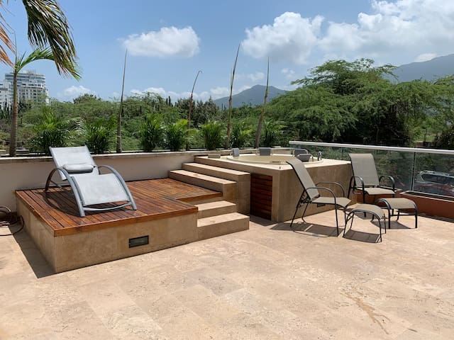 Hermoso apartamento Playa dormida Santa Marta