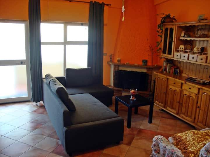 Large apartment near Taormina