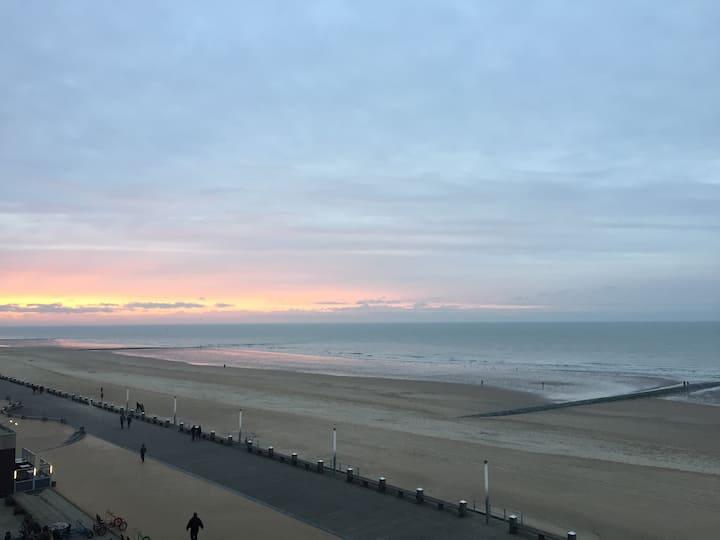 Magnifique appartement vue mer Ostende