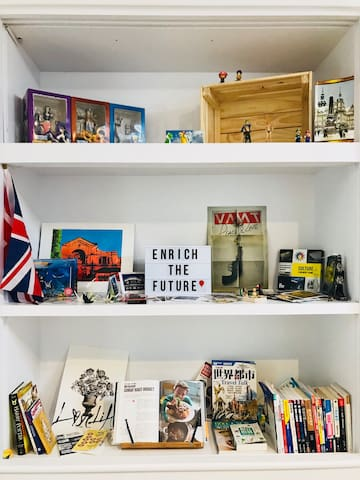 My travel collections display in the share area :)