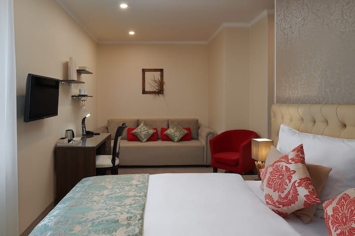Comfort Plus room in Honour and Grace Hotel