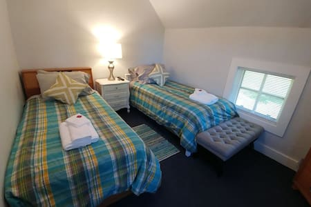 Twin Room at The Prairie House