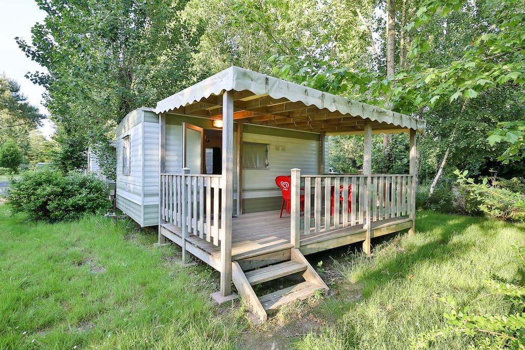 Mobil-home Bambi 4 places sans sanitaires