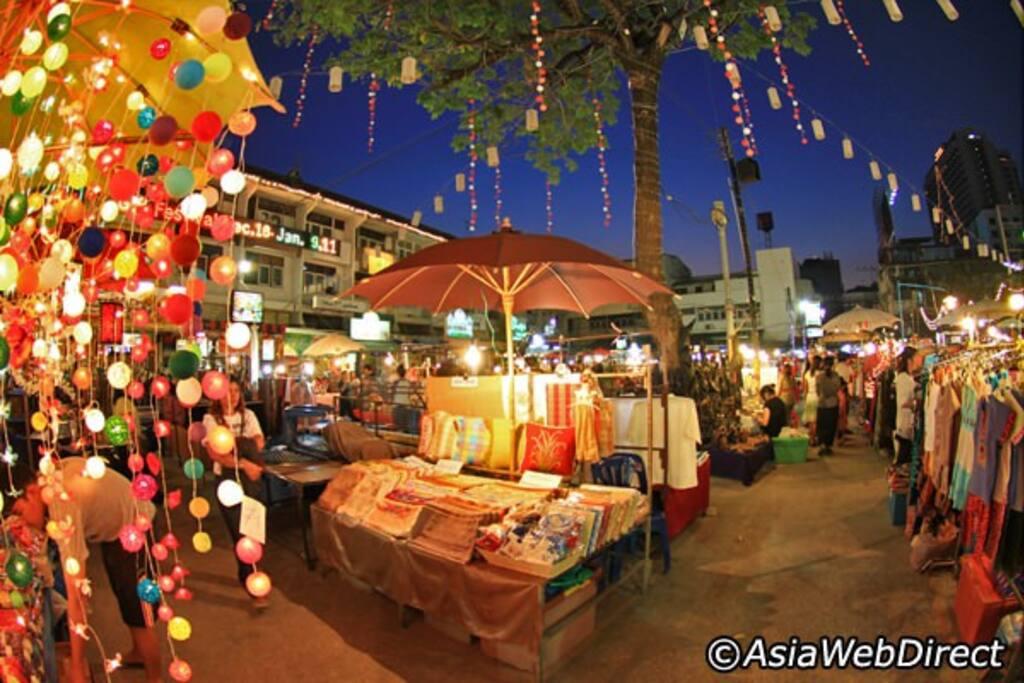 Near Walking street & Night bazaar