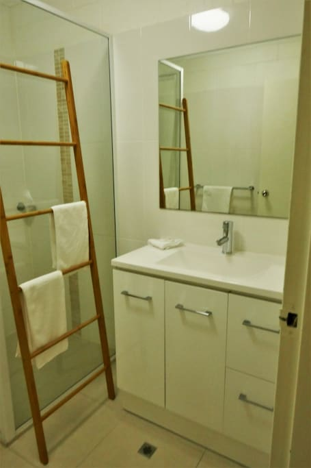 new bathroom renovated