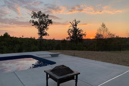 Beautiful & private home with a beautiful view.