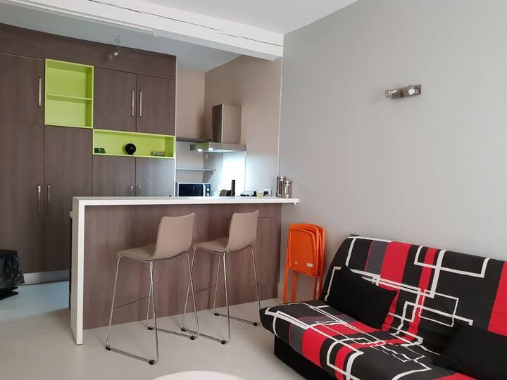 Appartement reposant et bien situé