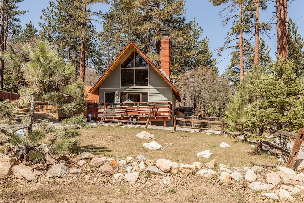 5 star superhost retreat best hike bike area spa cabins Big bear lakefront cabins for rent