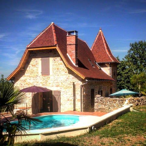 Maison avec piscine - Livernon - Casa