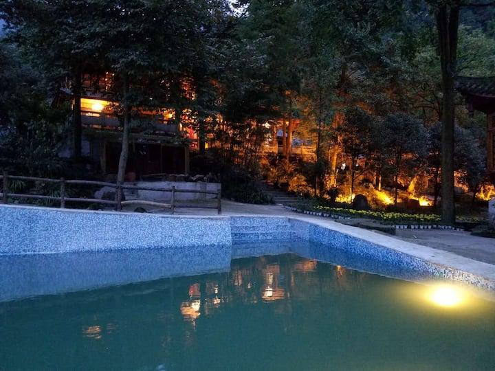 【心香雅舍】森林之中6间房,五星标准设施,四季皆有景。