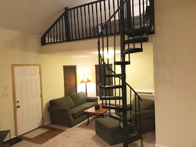 Hillcrest Loft Apartment - Little Rock - Pension
