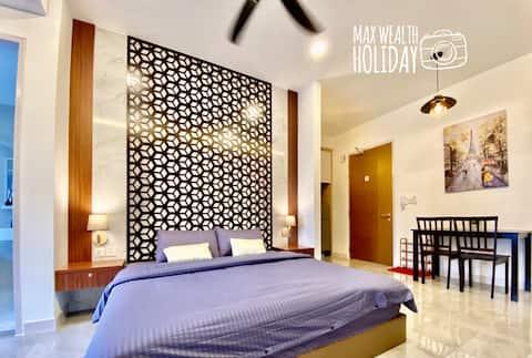 MWHolidayA2407 Modern Suites Sea+Pool View 高级舒适套房