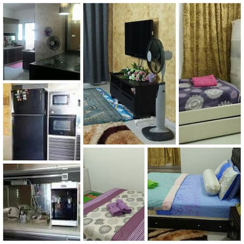Home sweet home at Zarissa Homestay - Perai - Daire