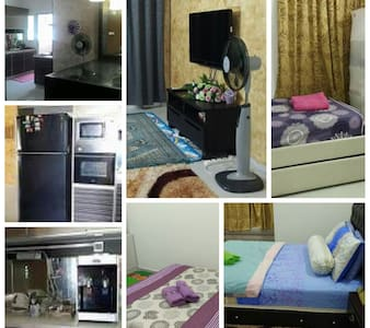 Home sweet home at Zarissa Homestay - Apartmen