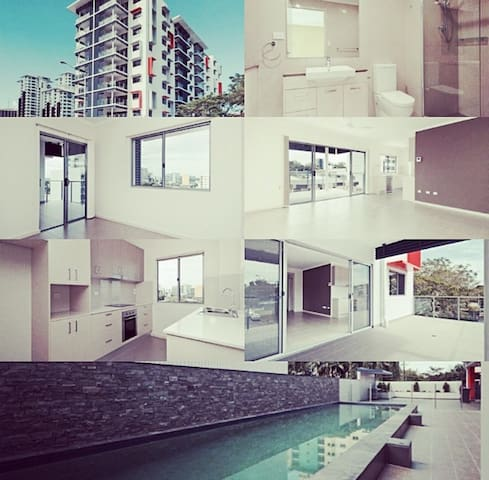 CBD brand new 1BR AP sleeps 4 (pool) - Larrakeyah - Apartment