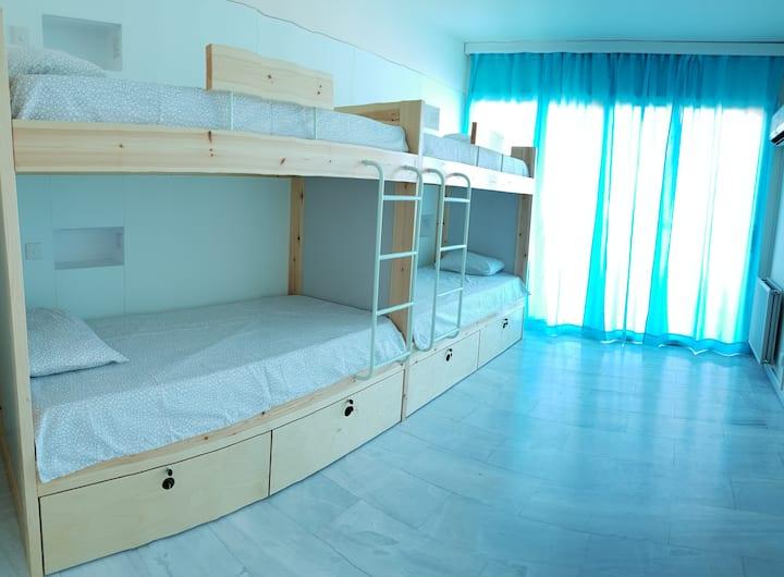 Bed in mixed dorm, NEX Hostel