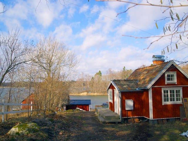 Genuint och renoverat i Västernäs by Rådmansö - Norrtälje SO - Vacation home
