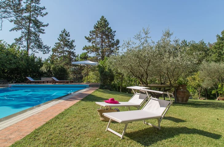 Ospedaletto 57, GuestHouse with garden and pool - Brisighella - Hus