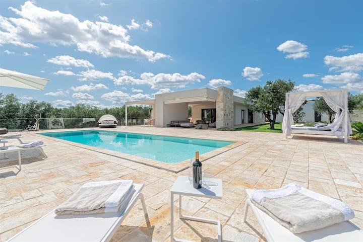 Villa Badessa con Trulli ad Ostuni