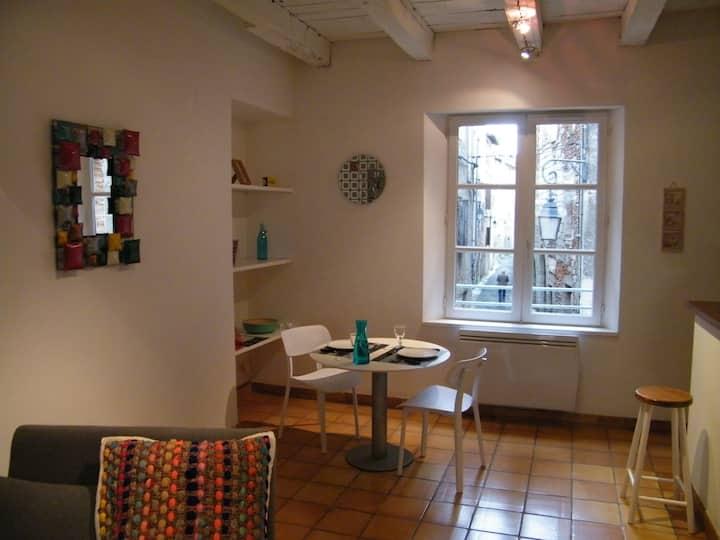 Appartement pour 2 au centre médiéval de Cahors