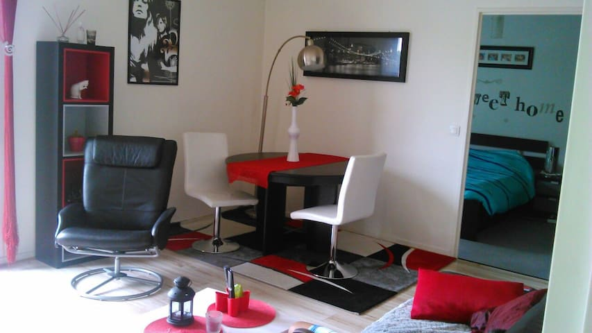 50M2 4 pers /train /CDG/euro2016 - Vaujours - Lejlighed