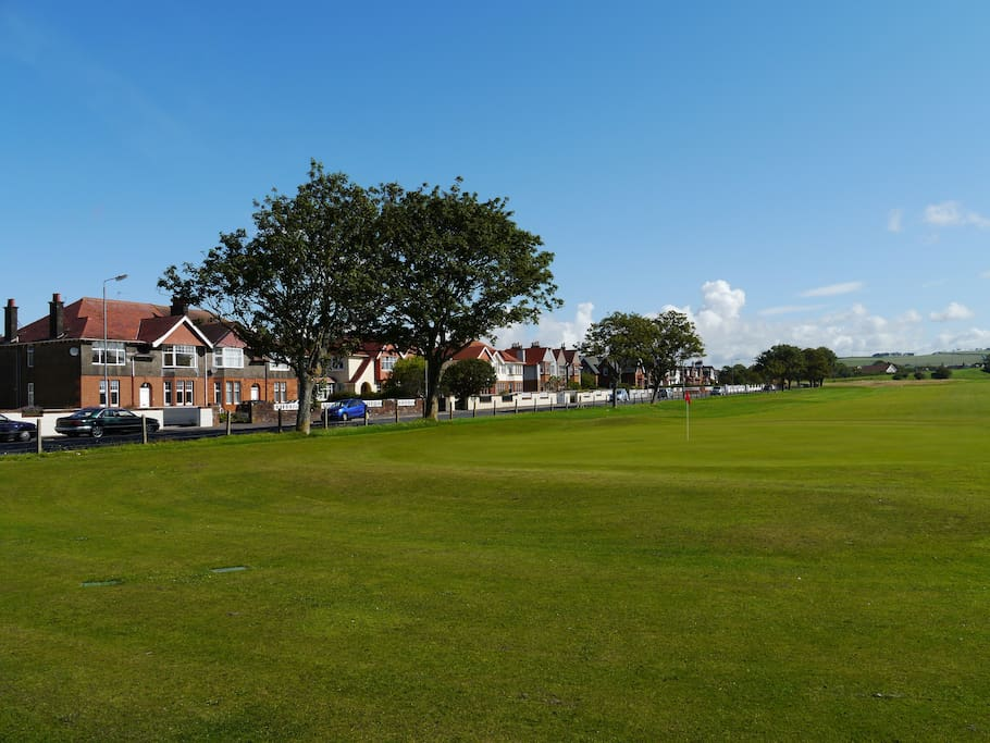 Holiday by Troon Darley's 18th green