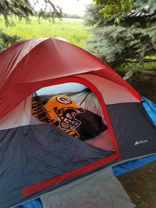 4man tent - best suited for 2