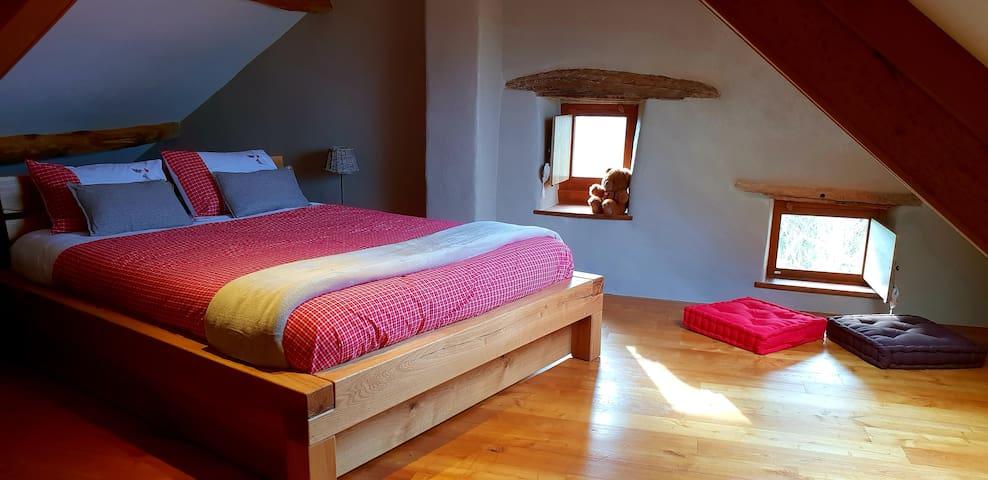 La chambre cosy...