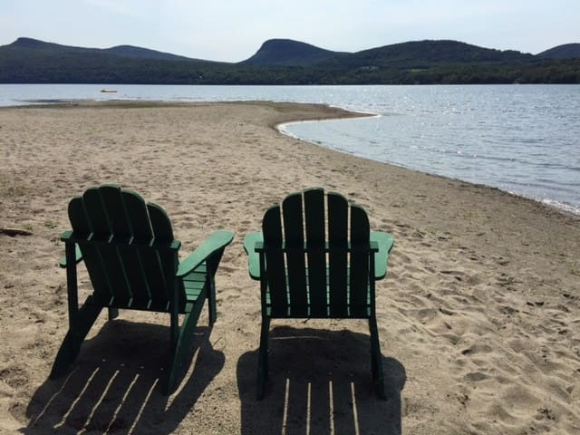 Enjoy 400-ft Private Beach at the Lake (Cabin 4) - Westmore - Kisház