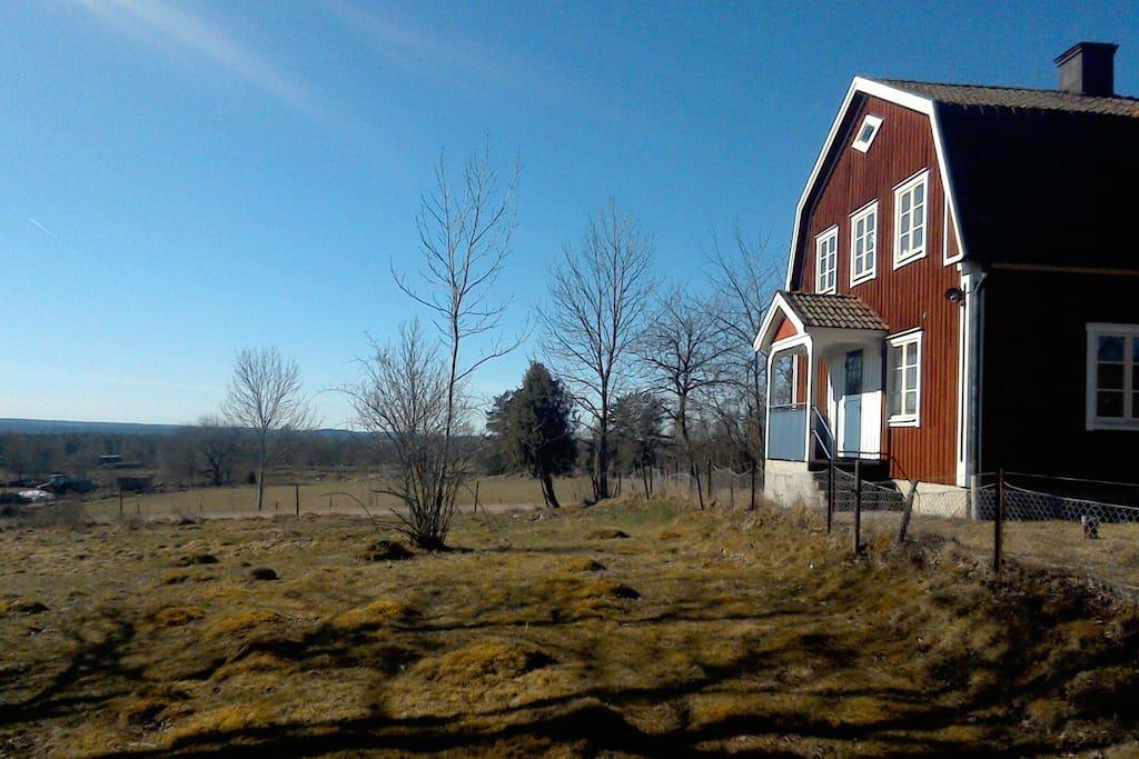 Huset och utsikten